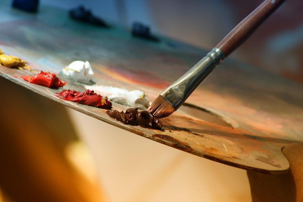 Como pintar un cuadro