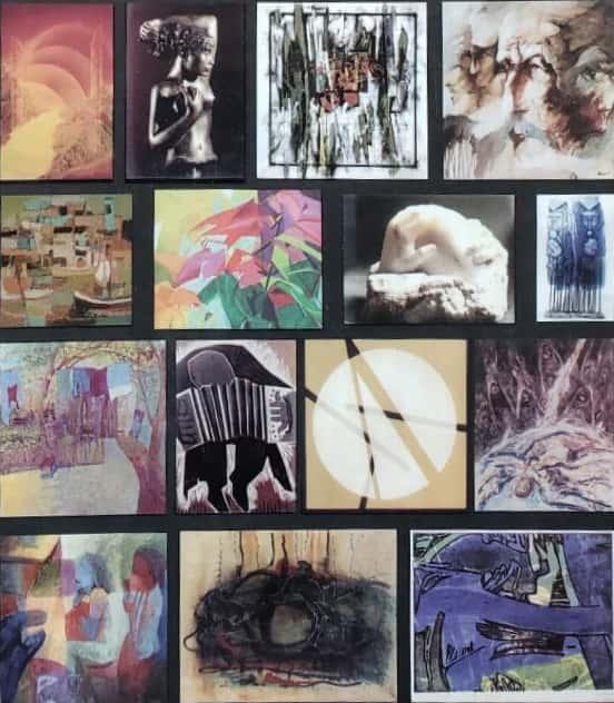 Cuadros pintados por artistas argentinos